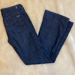 7 for all man kind boot cut petite jeans